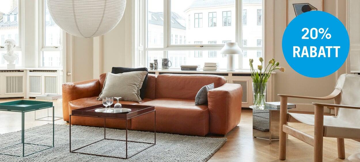 Jetzt in den MAGAZIN-Läden: 20% auf die Sofa-Serie MAGS von HAY