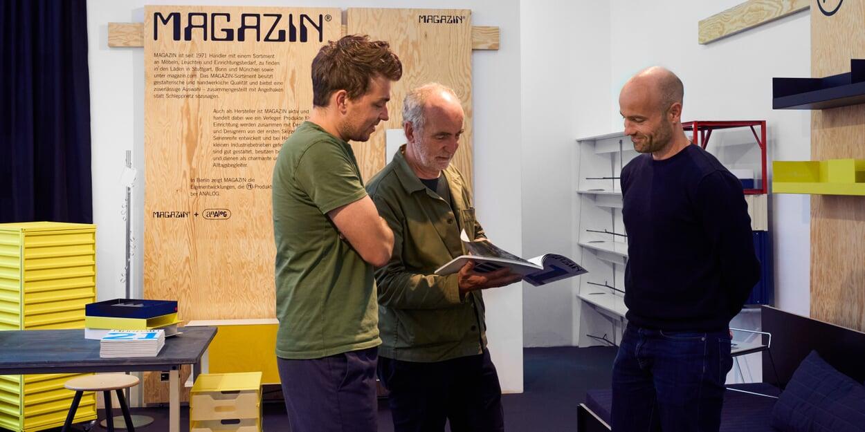 MAGAZIN Produkte Showroom Berlin