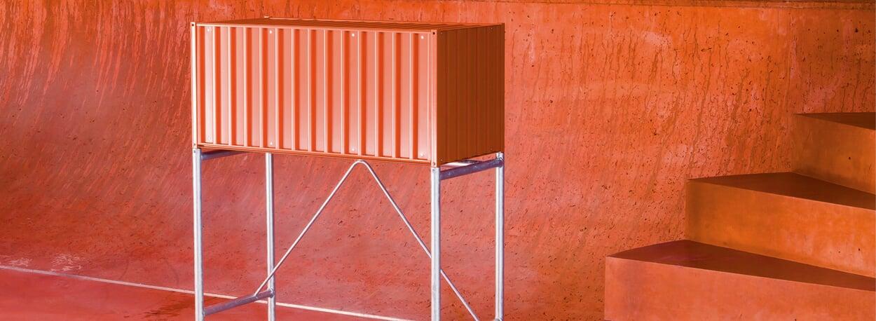 Container DS rotorange