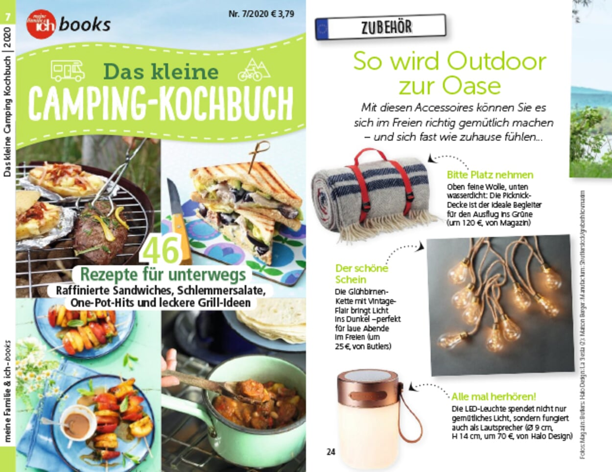 Das kleine Camping-Kochbuch