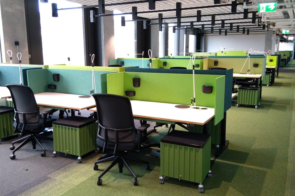 Büros und Konferenzräume