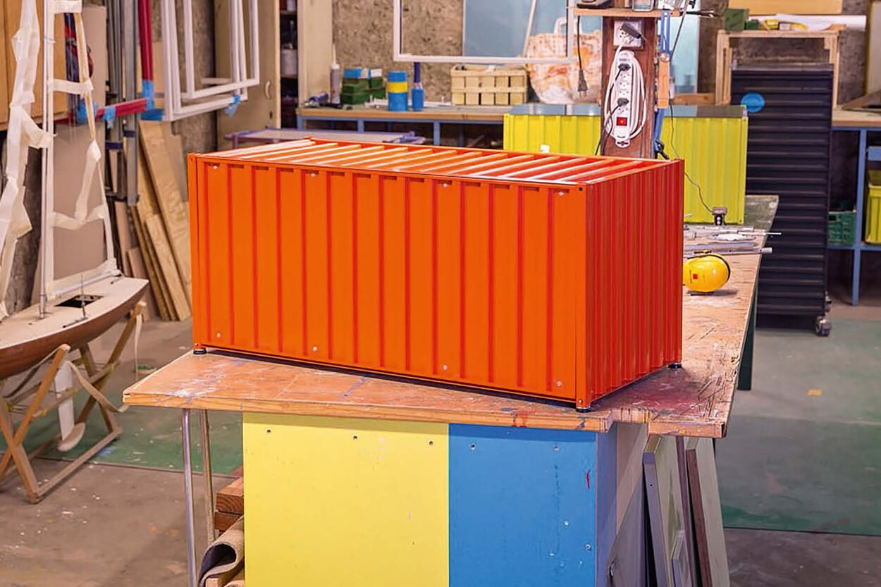 Container DS orange