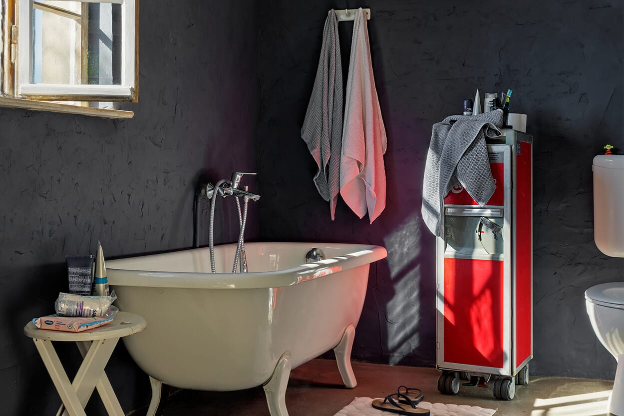 Farbe im Badezimmer