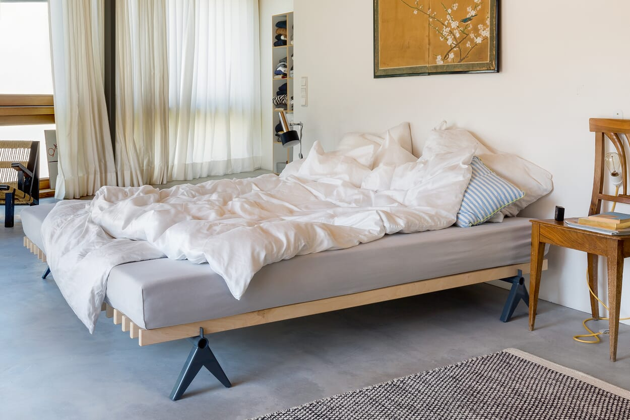 Betten mit MAGAZIN-Charakter