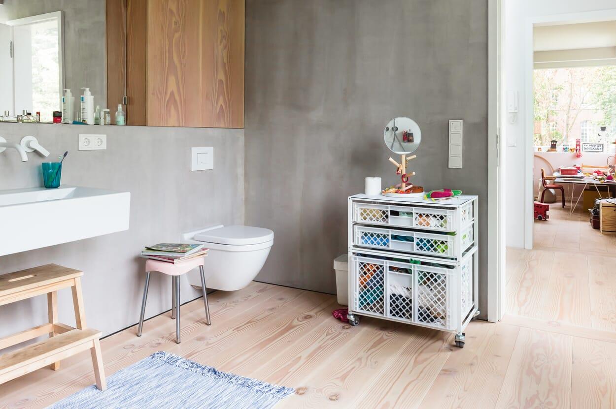 Stauraum fürs Badezimmer