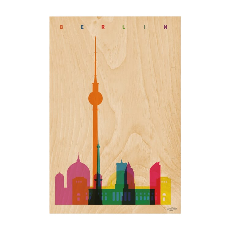 Postkarte Woodhi, Berlin