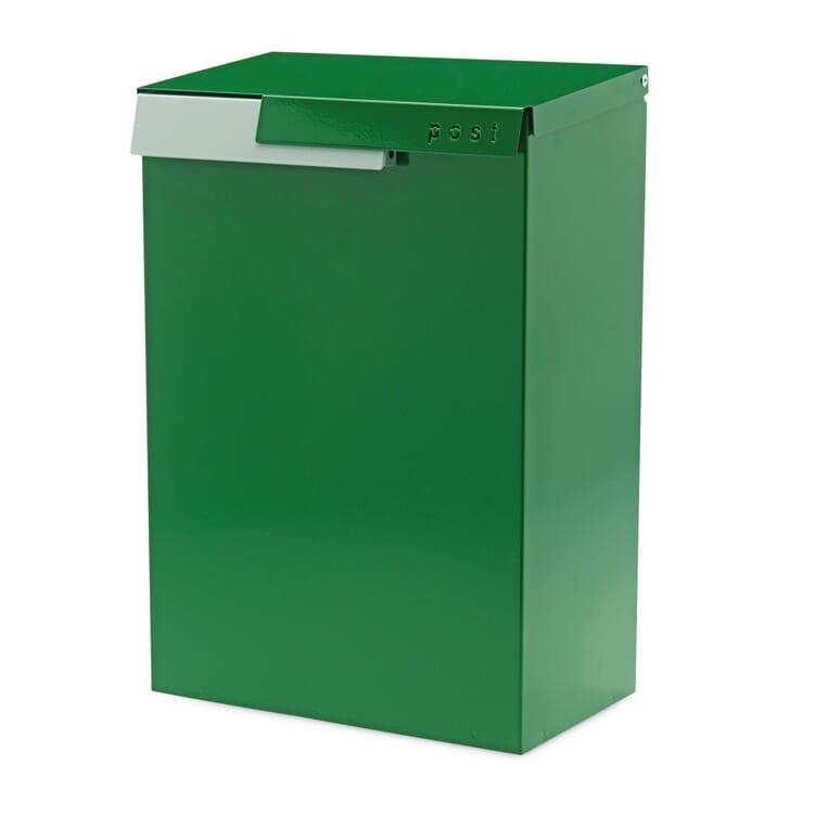 Briefkasten Cato, Grün / Weißaluminium