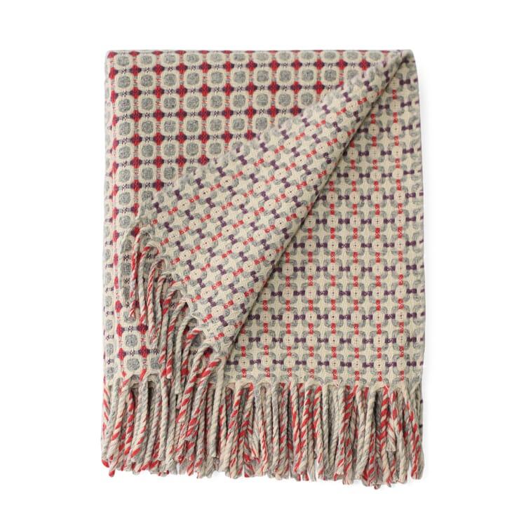 Decke Manteca Blanket, Koralle