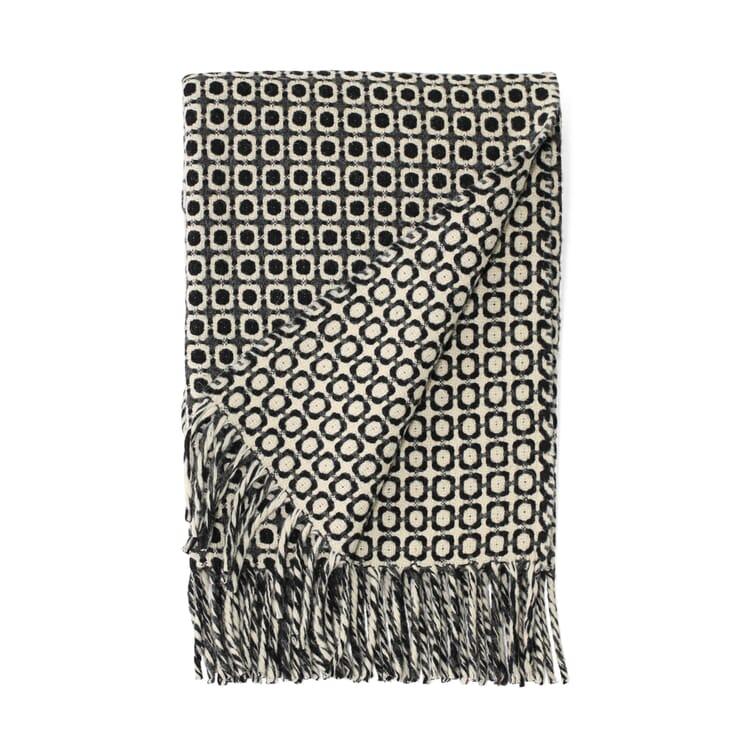 Decke Manteca Blanket, Schwarz