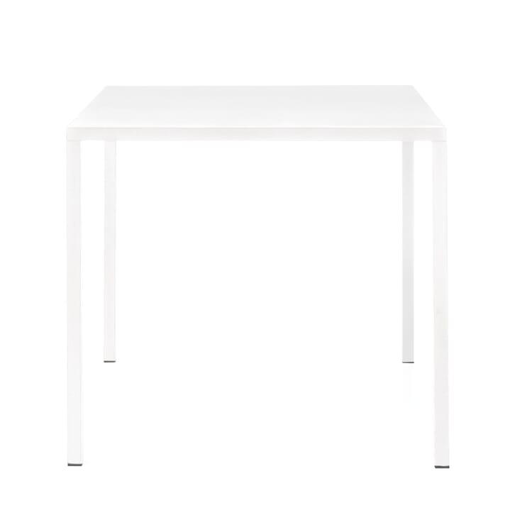 Tisch Fabbrico, quadratisch, Weiß