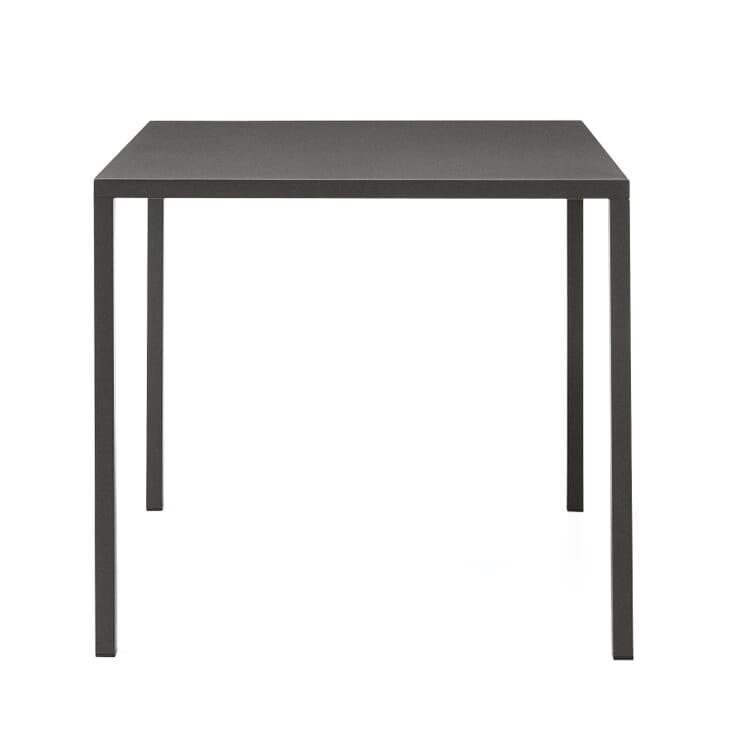 Tisch Fabbrico, quadratisch, Anthrazit