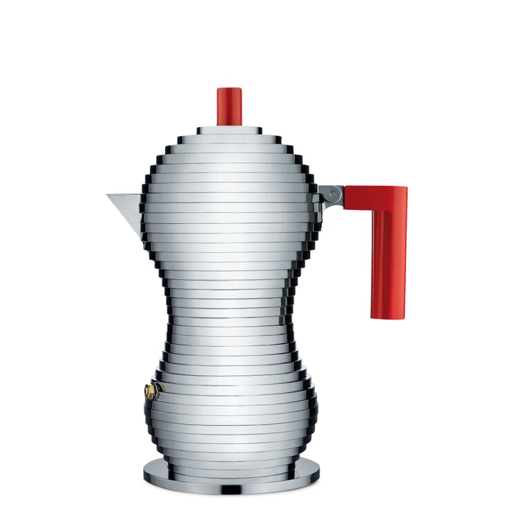 Espressokocher Pulcina Klein Rot