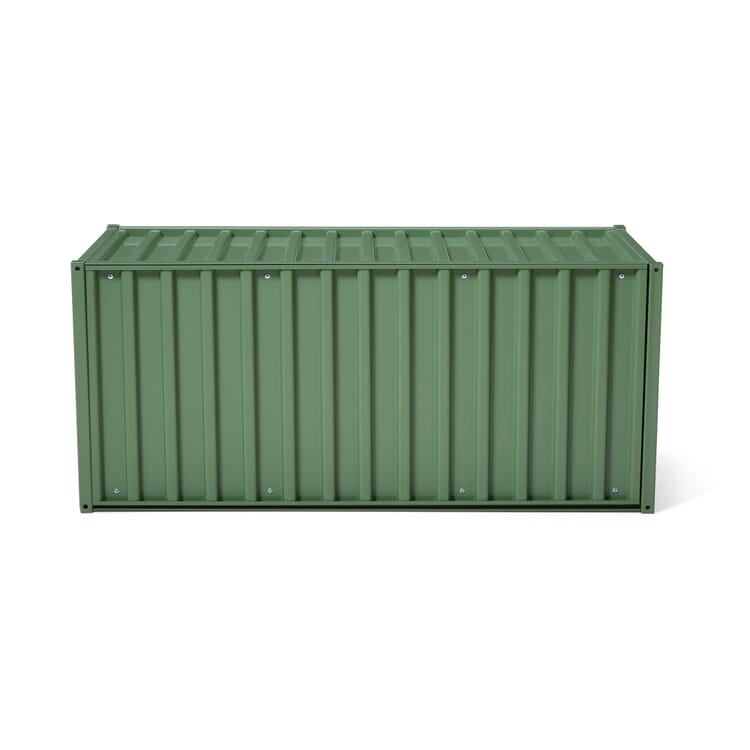 Container DS, Resedagrün RAL 6011