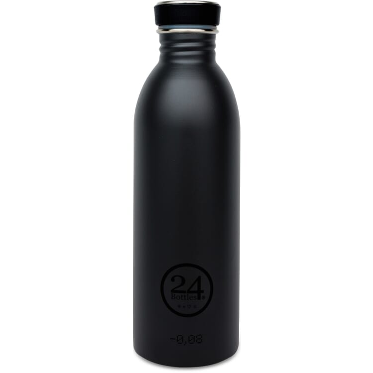 Trinkflasche Urban, klein, Schwarz