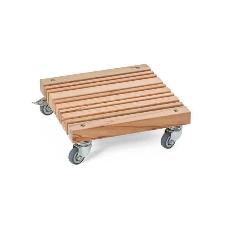 Kübelroller Holzleisten