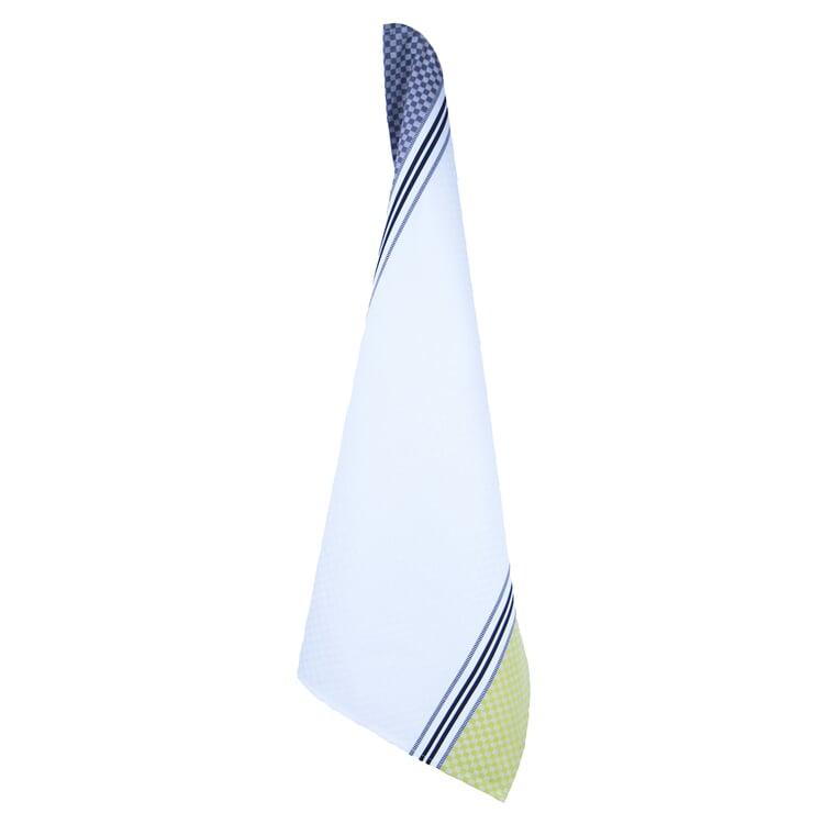 Geschirrtücher Karo Weiß/Gelb