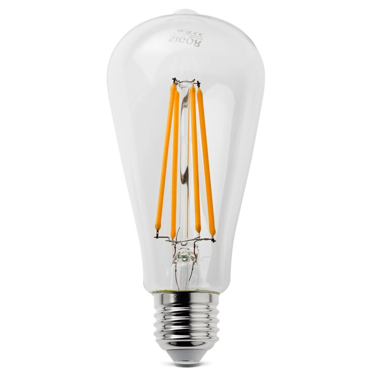 LED-Filament-Rustikalampe E27, 7 W