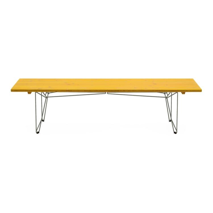 Tisch und Bank BTB Gestell, Schwarzgrau RAL 7021