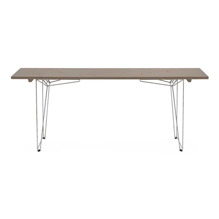Tisch und Bank BTB Platte, Achatgrau RAL 7038