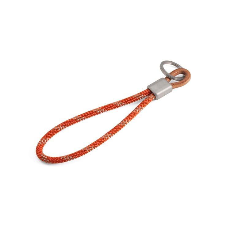 Schlüsselschlaufe Hanse, Orange / Weiss