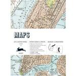 Geschenkpapier Pepin Maps