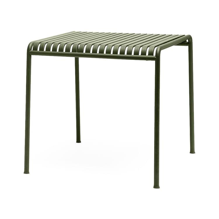 Tisch Palissade, Quadratisch, Olivgrün