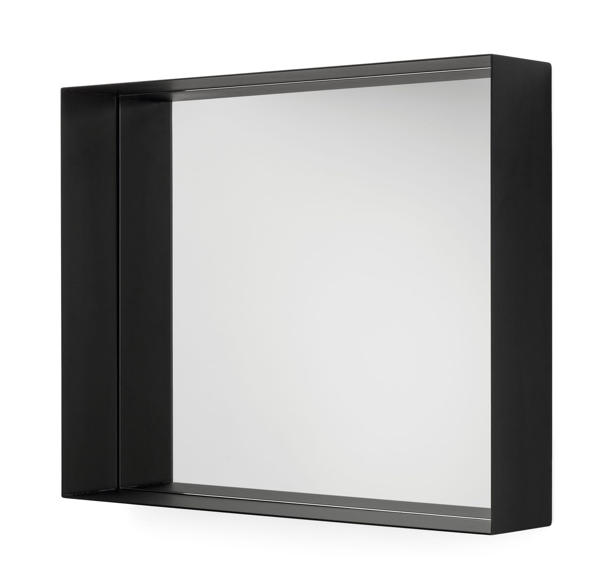 Durch das Spiegelglas