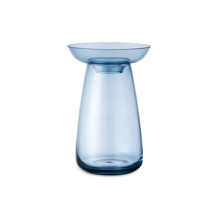 Vase Aqua, klein, Blau