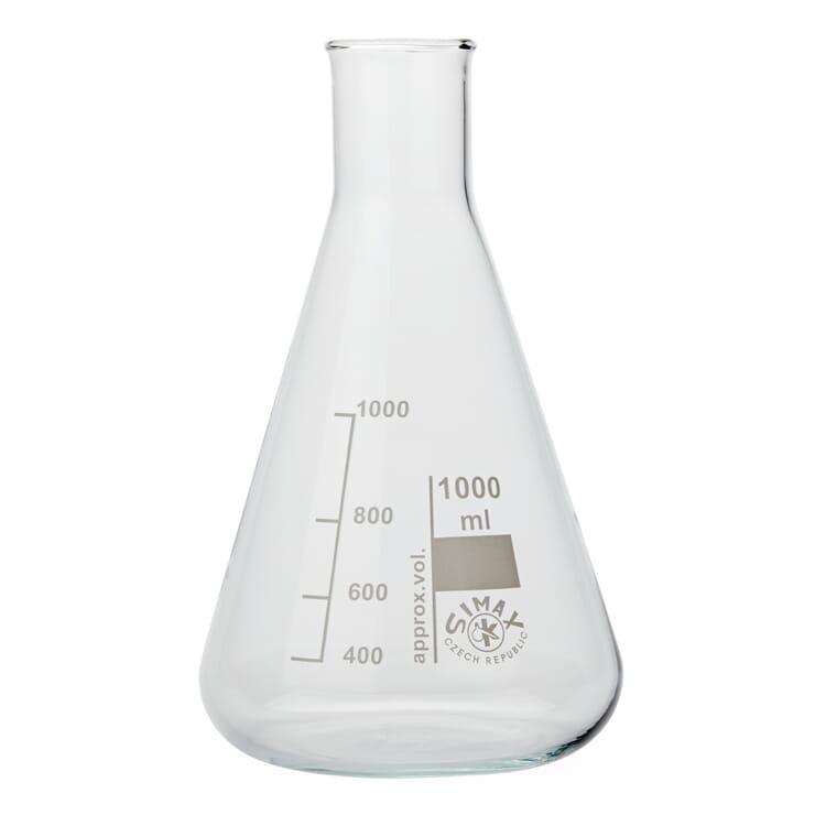 Glasflasche Konus, 1000 ml