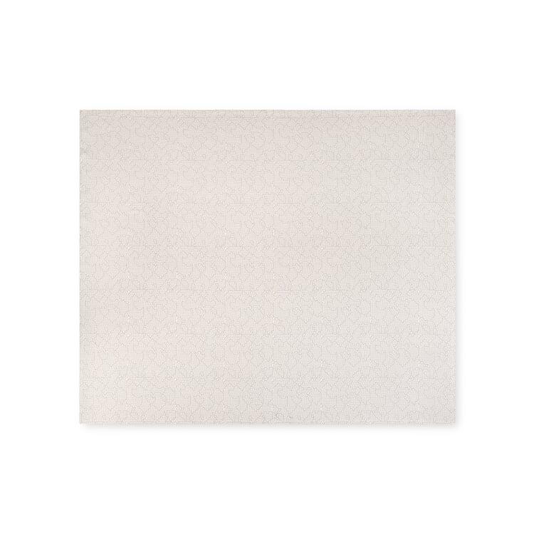 Tagesdecke Mapping Klein Weiß