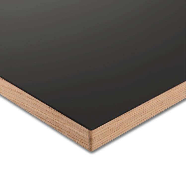 Tischplatte LTL Linoleum, Dunkelgrau