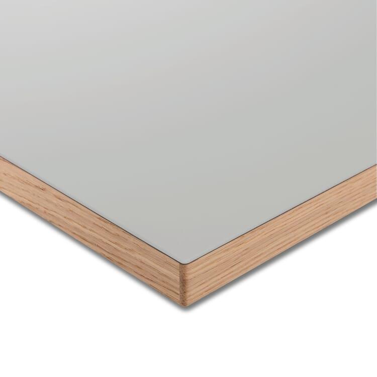 Tischplatte LTL Linoleum, Hellgrau