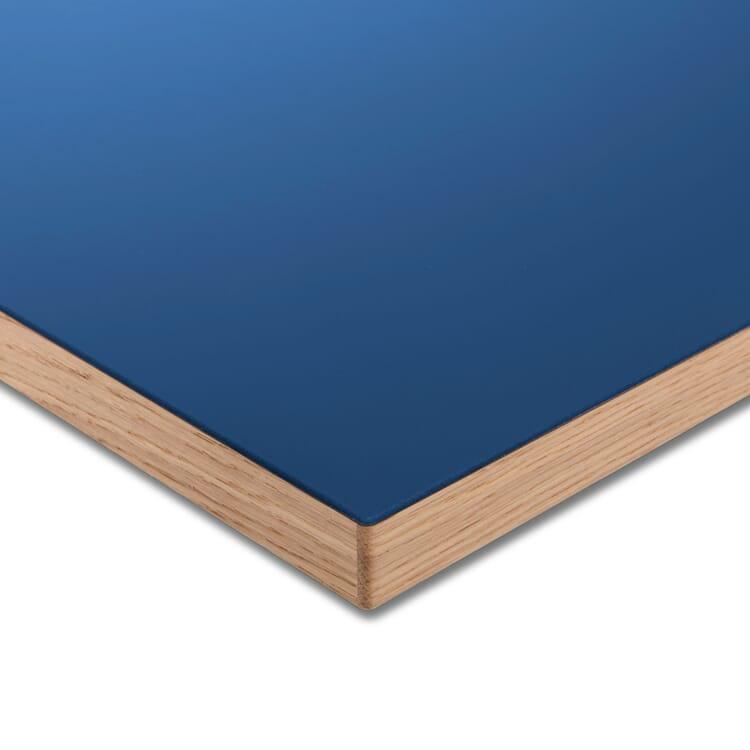 Tischplatte LTL Linoleum, Blau