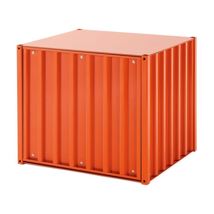Container DS Klein, Rotorange RAL 2001