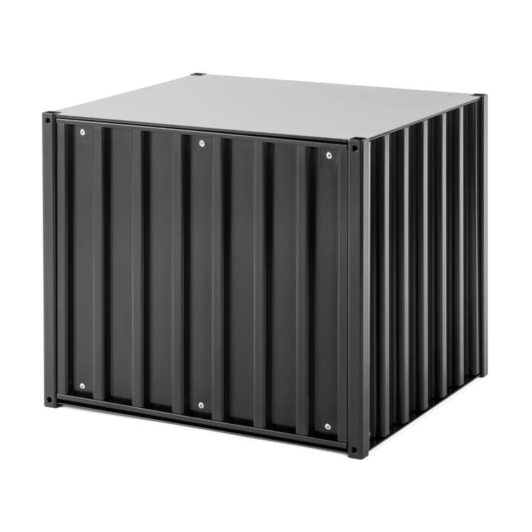 Container DS Klein, Schwarzgrau RAL 7021
