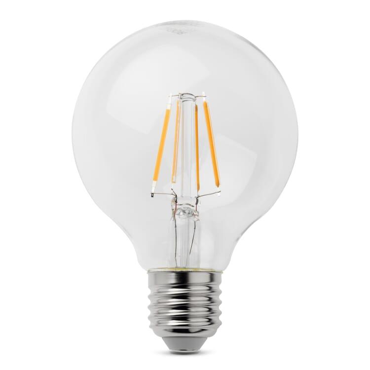 LED-Filament-Globelampe 80 mm E27, E 27 4,5 W
