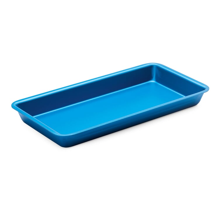 Tablett Alumoule 20×10 Blau