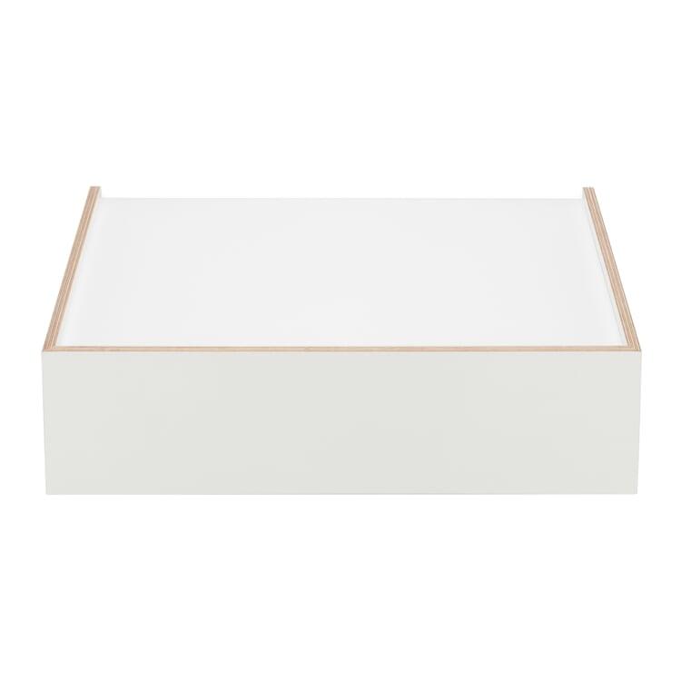 Schublade Wandsinn Groß Weiß