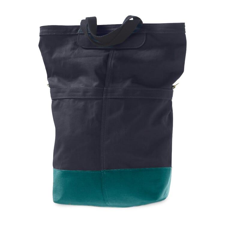 Radtasche Beutel, Blau / Hellblau