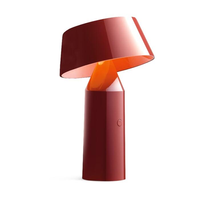 Tischleuchte Bicoca, Rot