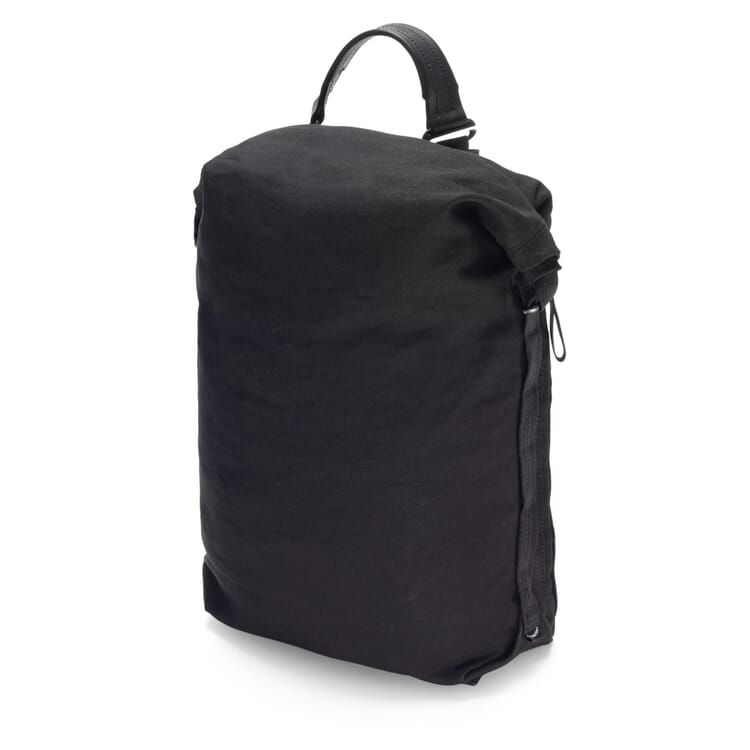 Rucksack Roll Pack Bananatex, Schwarz