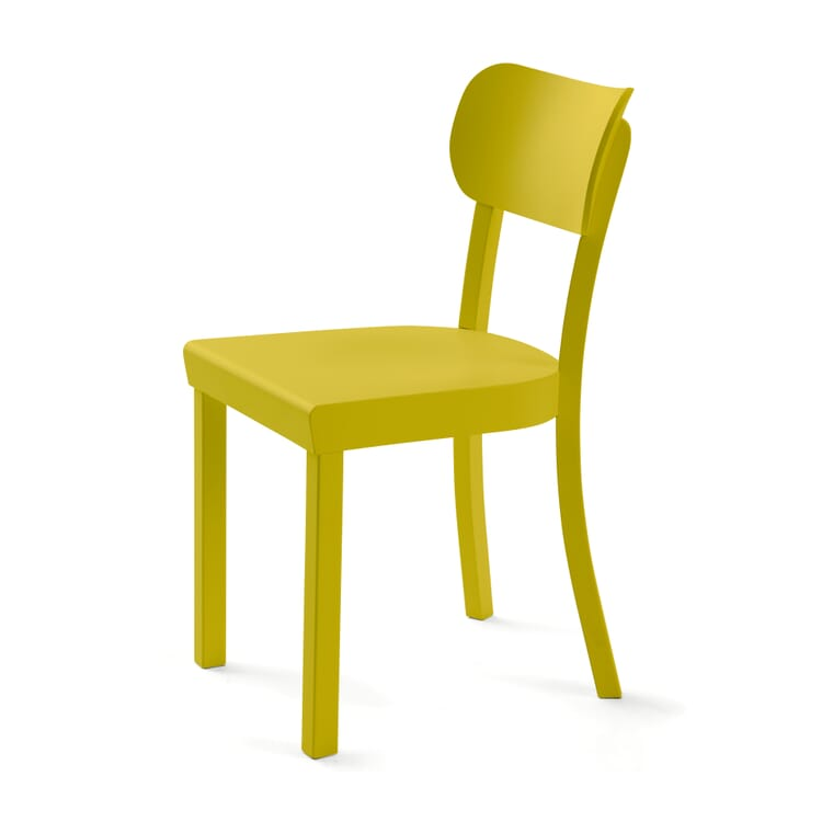 Stuhl Frankfurter Küchenstuhl, Grüngelb