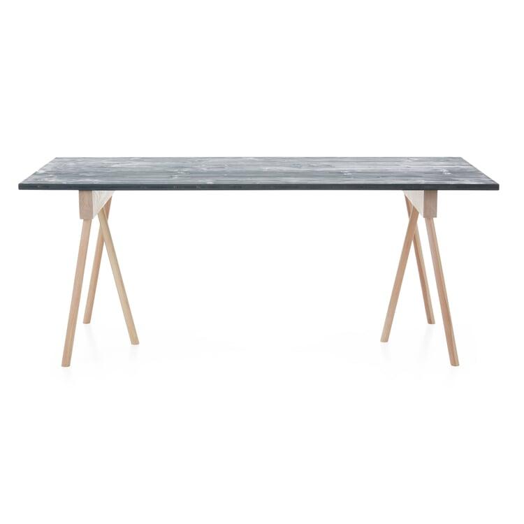 Tischplatte Uni, Granitgrau RAL 7026