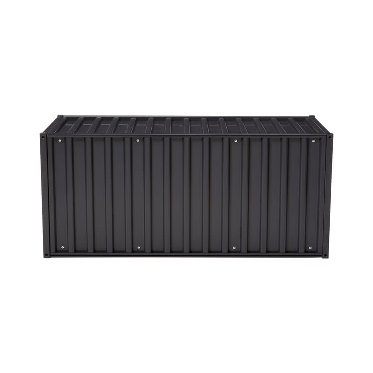 Container DS, Schwarzgrau RAL 7021