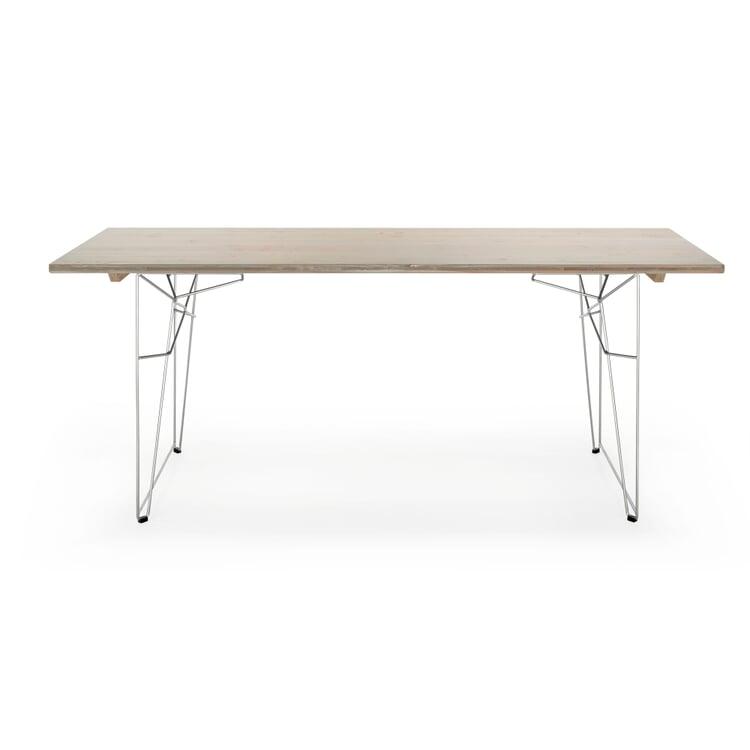 Tisch und Liege LTL Platte, Achatgrau RAL 7038