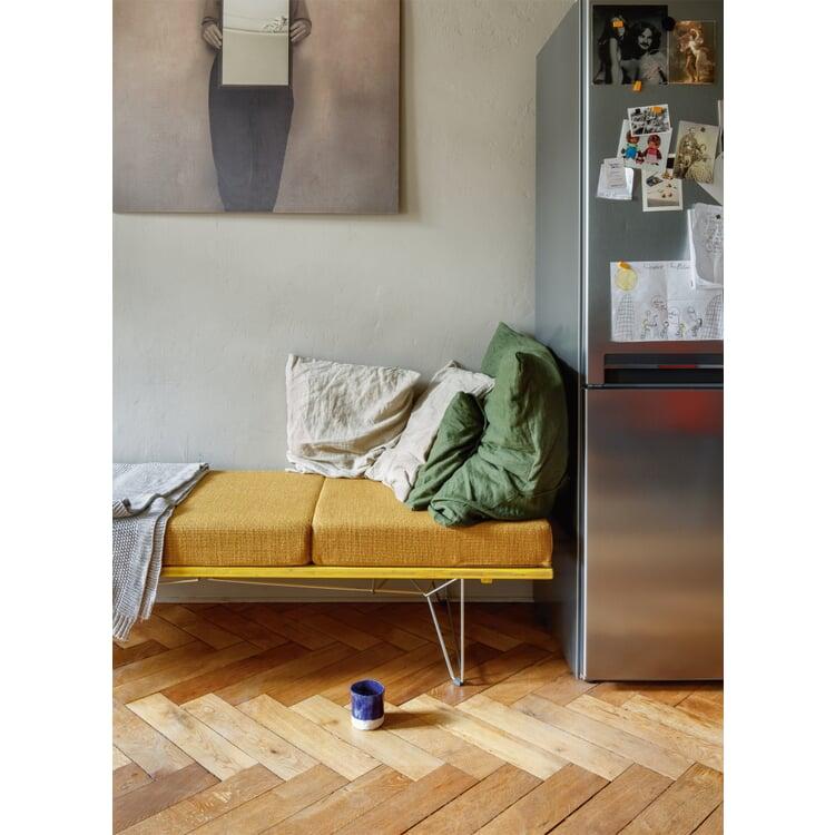 Tisch und Liege LTL Platte Granitgrau RAL 7026