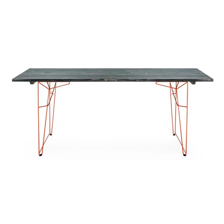 Tisch und Liege LTL Gestell, Rotorange RAL 2001
