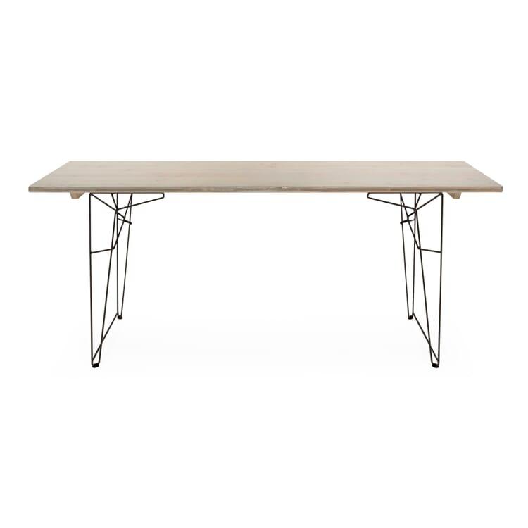 Tisch und Liege LTL Gestell, Schwarzgrau RAL 7021