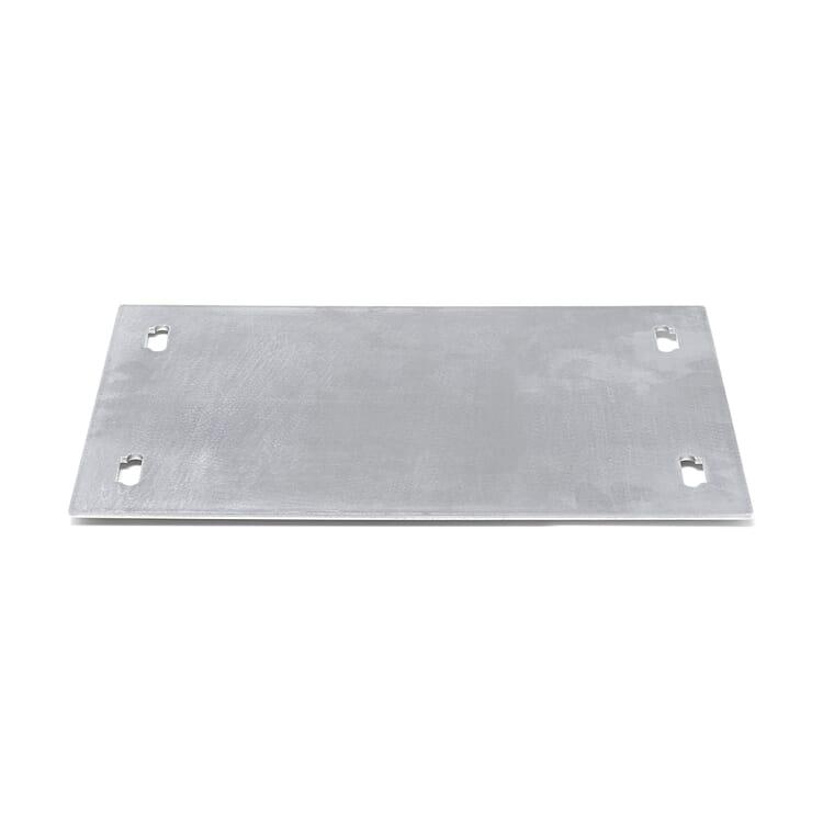 Regalsystem Baunz, Bodenplatte 1-fach