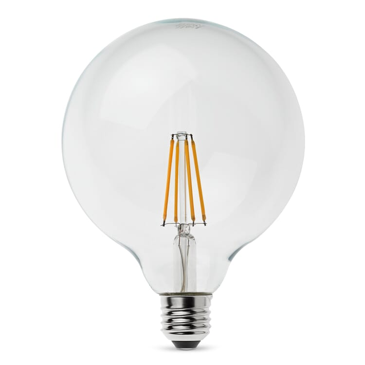 LED-Filament-Globelampe 125 mm E27, 7 W